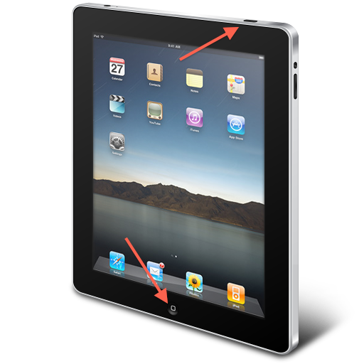 how to avoid pressing home button on ipad