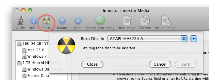 Tweaking4All com - Create an installation disk (USB or DVD) for MacOS X