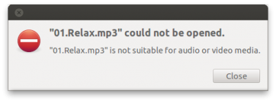 Missing MP3 plugin?