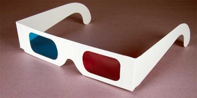 Ye good ol' 3D glasses