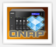 How do you install DropBox on your QNAP?