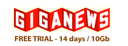 GigaNews - Free Trial!