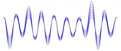 Nice looking sound wave illustration