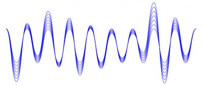 Nice looking sound wave illustration