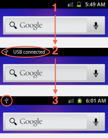 Android Detects USB
