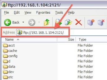 Windows Explorer as FTP Client