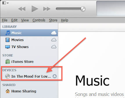 iTunes spotted your CD!
