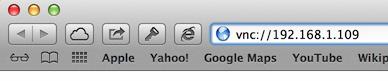 MacOS X - Open VNC Client through Safari
