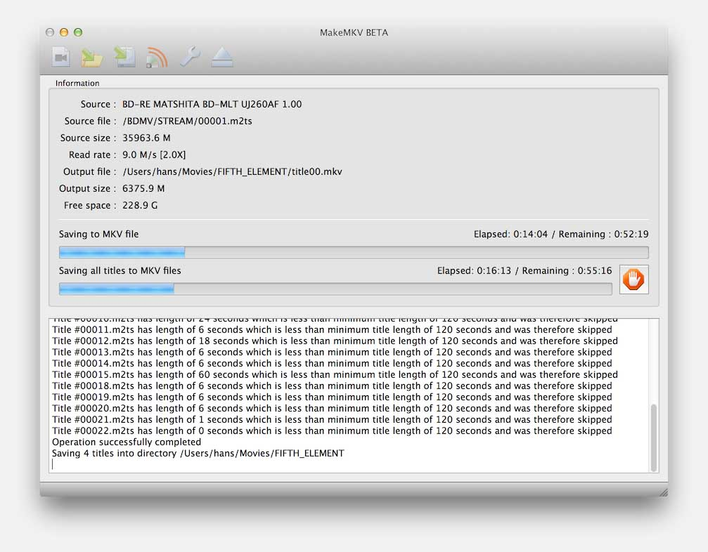 Tweaking4All com - MakeMKV - Copy a Blu-Ray movie to MP4 or MKV