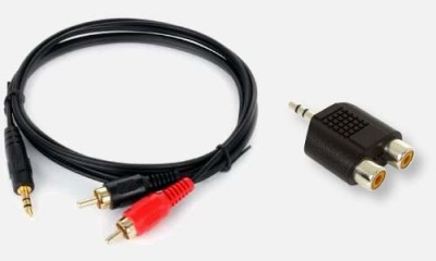 Examples of 3.5mm to RCA