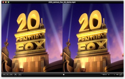 20th Century Fox - Small Side by Side 3D Demo