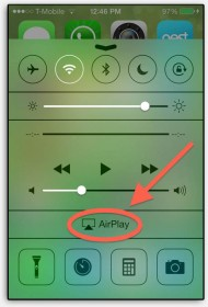 AirPlay - Music from your iPhone
