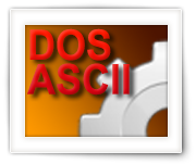 ASCII HTML Table – DOS ASCII versus HTML Characters