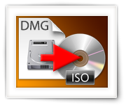 Convert DMG to ISO (MacOS X, Windows or Linux)