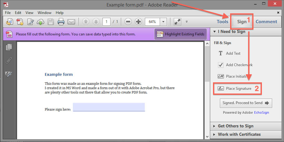 Tweaking4all Com How To Put Your Signature On Pdf