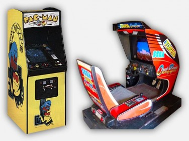 Classic Arcade Game Cabinets