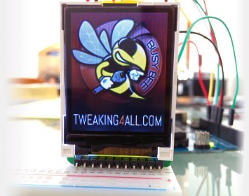 Example BMP on a SainSmart Display w/Arduino