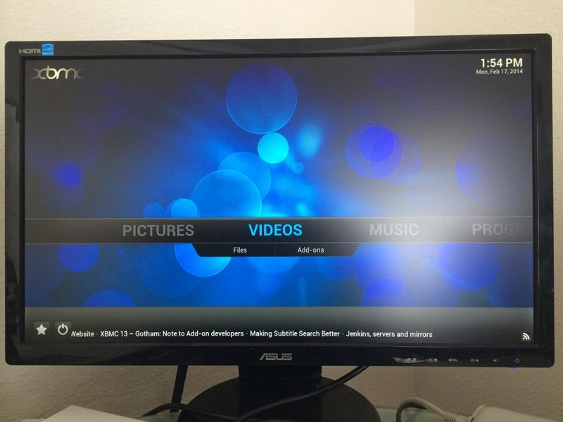 Boxee Box - Running XBMC