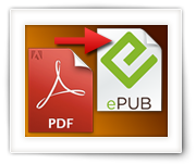 How to convert PDF to ePUB documents