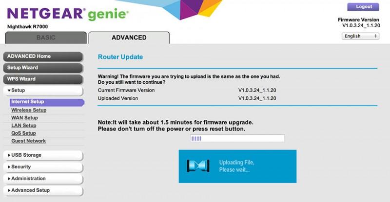 r7000 firmware version 1.0.9.33