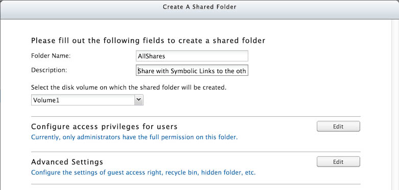 Tweaking4All com - Combine QNAP shared folders into one