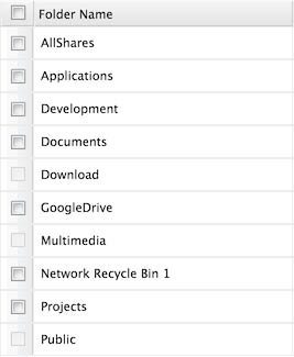 Tweaking4All com - Combine QNAP shared folders into one share for