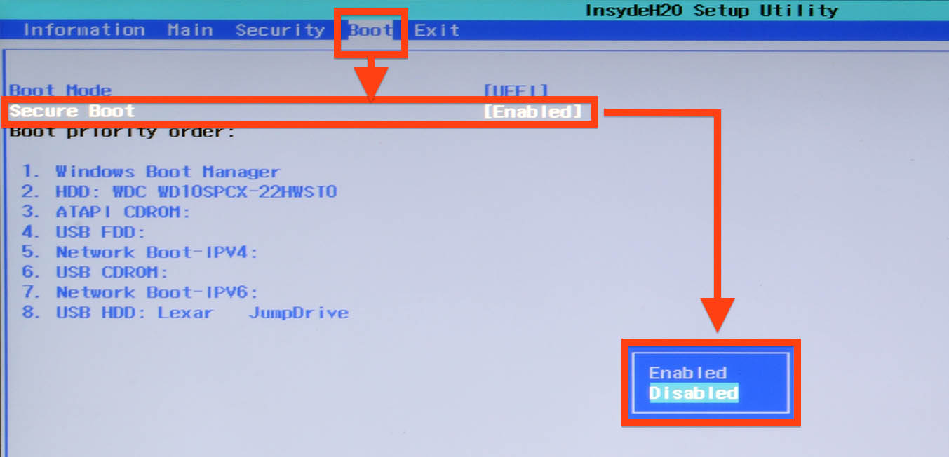 How to boot an ubuntu iso from your hard drive 4 steps - Uefi Bios Disable Secure Boot