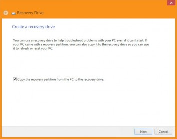 """Recovery Wizard - Check """"Copy the recovery partition"""""""