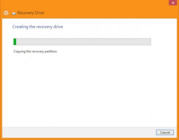 Recovery Wizard - Creating Recovery Disk