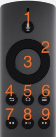 Amazon Fire TV - Remote Control Buttons