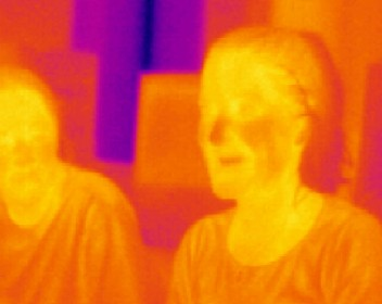 Example of InfraRed radiation