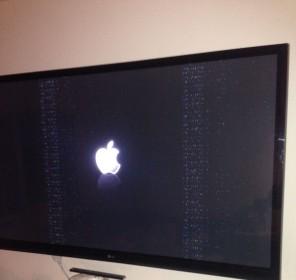 ApplTV 1st Gen - Strange screen noise