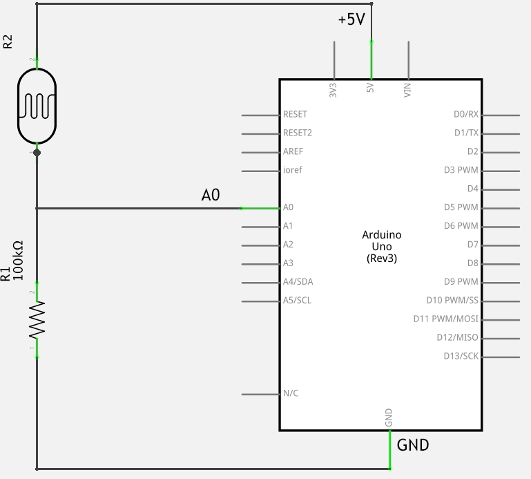 P1hack further Arduino Stepper Motor Control furthermore Draw The Wiring Diagram For A Half Adder furthermore Arduino Light Sensitive Resistor further Attiny85 Via Arduino Quickstart Guide. on breadboard drawing