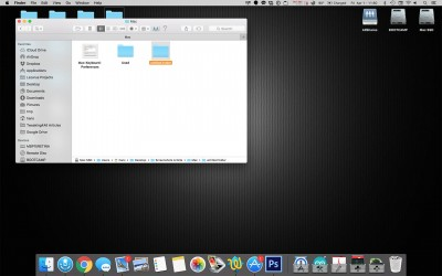 MacOS X - Example Full Screen Screenshot