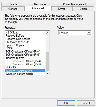 Windows 10 - NIC details