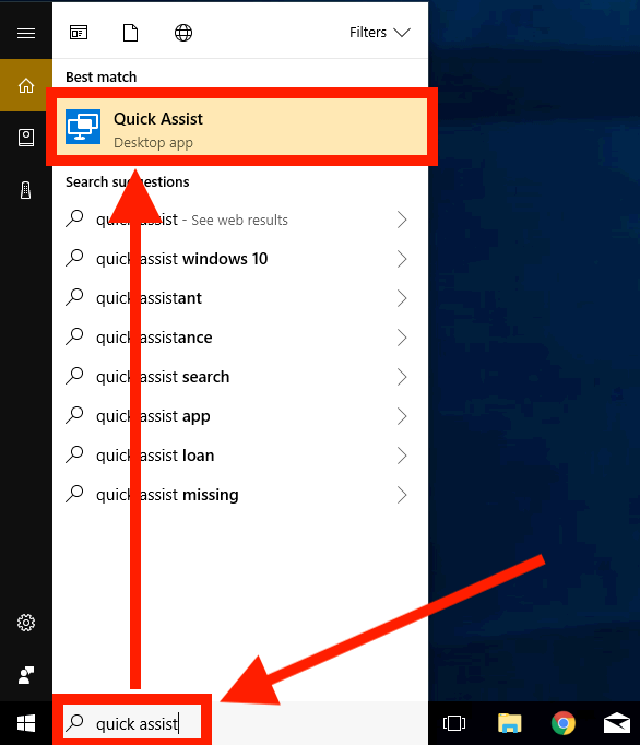 Tweaking4All com - Windows 10 Quick Assist - Troubleshoot a Friend's