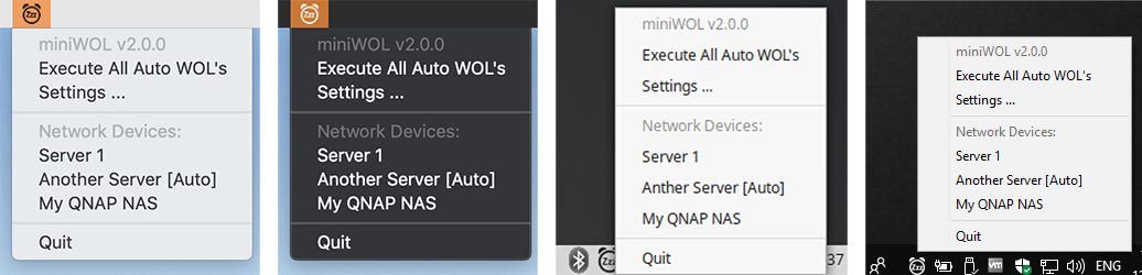 Tweaking4All com - miniWOL v2 - Quick and Easy Wake On LAN Utility