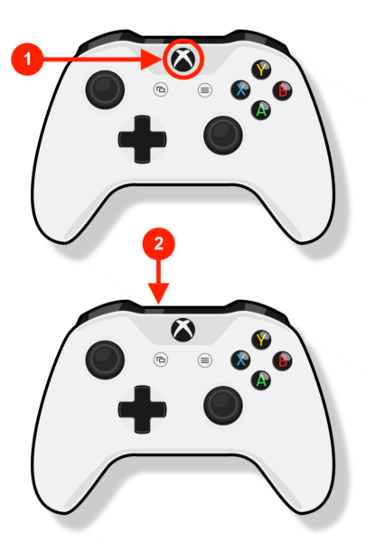 XBox One Controller - Start Bluetooth Pairing