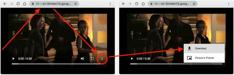 Download the YouTube Video with your browser